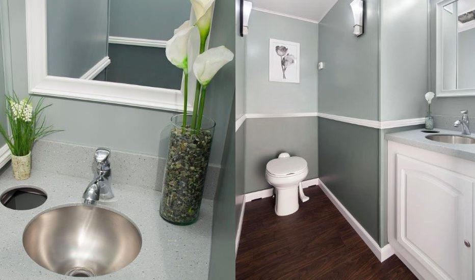 Elegant Greenwood Indianapolis Bathroom Trailer Rentals Julies