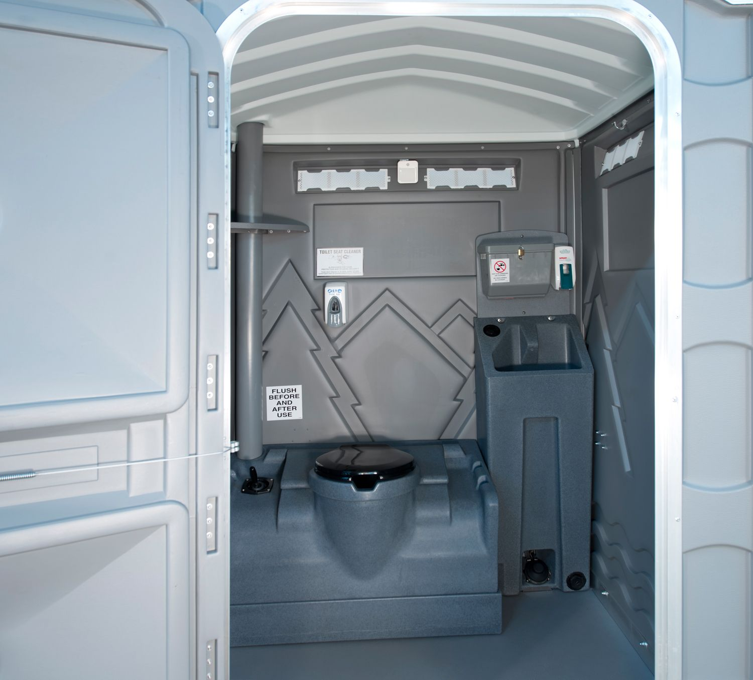 Toilets For Rent : Rent portable toilets greenwood indianapolis